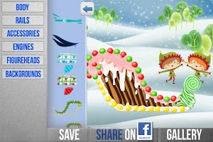 Screenshot of Pimp Santa's Sleigh