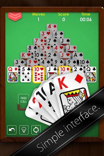 Pyramid Solitaire Premium - Free Card Game Apk Download 2