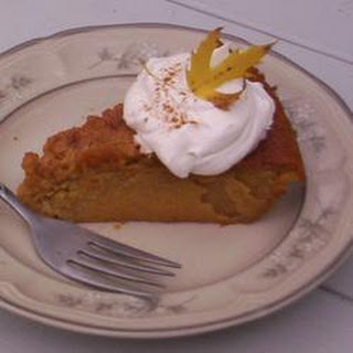 Magical Pumpkin Pie