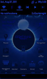 BlueGinger Theme CM7 screenshot 2