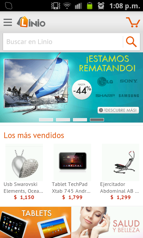 Linio App para Android - screenshot
