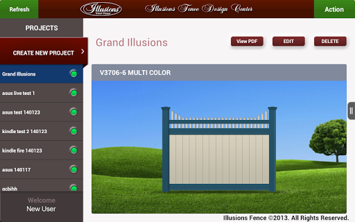 【免費商業App】Illusions Fence Design Center-APP點子