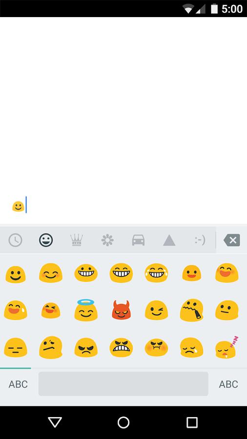 Google Klavye - screenshot
