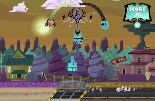 Attack of Ghastly Grey Matter! apk screenshot