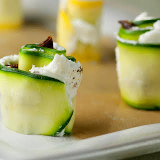 Goat Cheese Summer Squash Sushi.