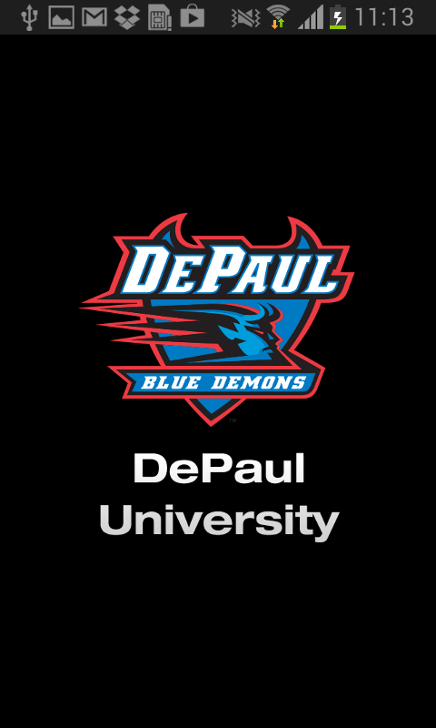 DePaul Athletics - screenshot