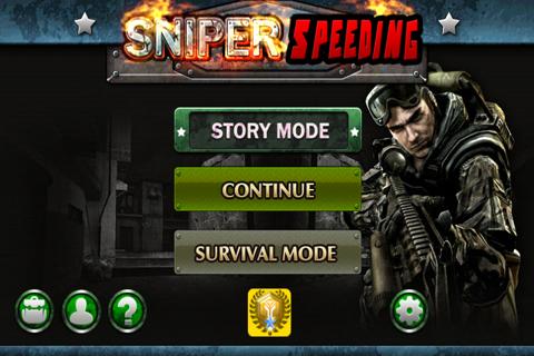 Sniper Speeding