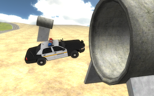 Fast Police Car Driving 3D- screenshot thumbnail