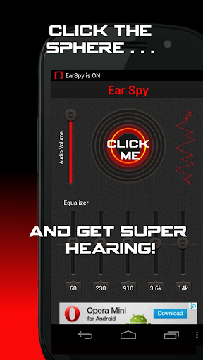 Ear Agent: Super Hearing Aid  screenshots 1