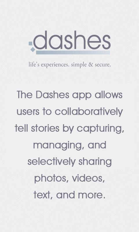 Dashes - screenshot