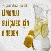 LİMON SUYU İÇMENİN 8 NEDENİ