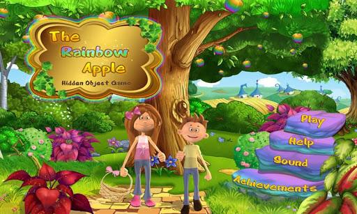 Rainbow Apple - Hidden Objects