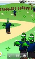 Screenshot of Zombie Pop LW Free
