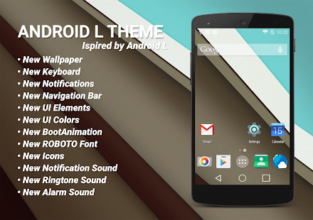 Material Theme - Android L