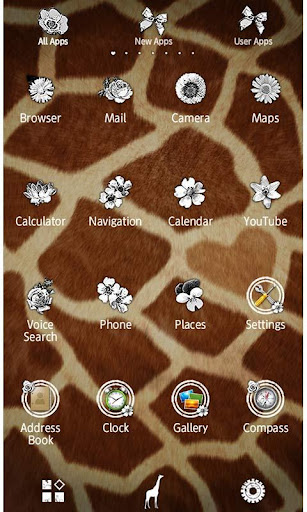 Mon Amour De Girafe Wallpaper 1.2 Windows u7528 2