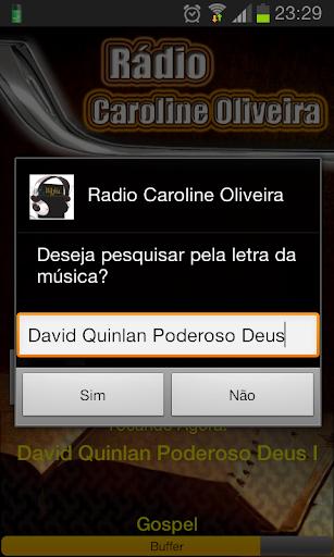 Rádio Caroline Oliveira