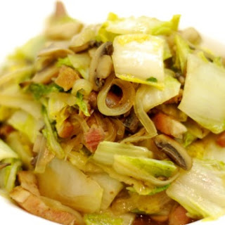Mushrooms Onions And Cabbage Recipes.