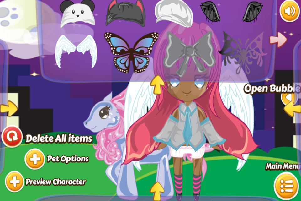 Chibi Girl Dress Up - screenshot