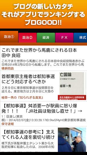 政治・経済(FX・為替・経営・金融)情報ブログ〜ブロGOOD