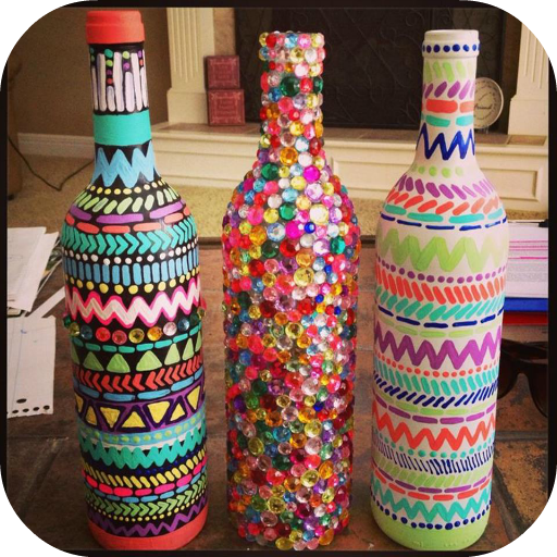 DIY Crafts Wine Bottles