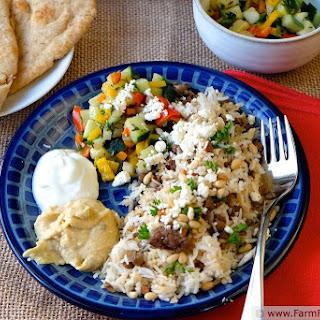 Mediterranean Chopped Salad Concept