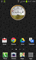 Screenshot of Battery Meter Widget