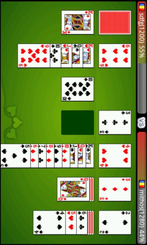 Solitaire Challenge (Online) - screenshot