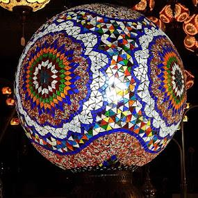 Light Globe by Dave Davenport - Artistic Objects Glass ( glass art, lights, lighting, artistic, glass, light )
