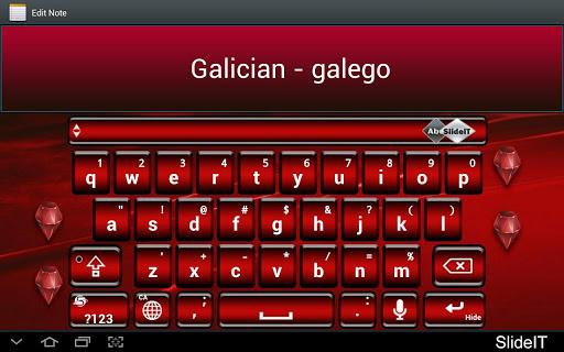 SlideIT Galician - galego Pack