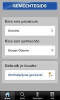 Screenshot of Gemeentegids voor Tablets
