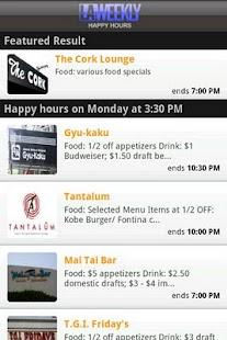 Happy Hours - screenshot thumbnail