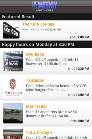 Happy Hours - screenshot