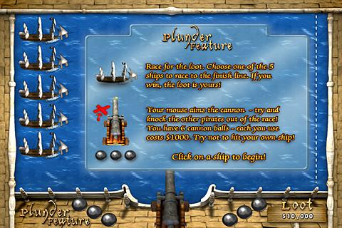 Pirates Plunder Slots - screenshot