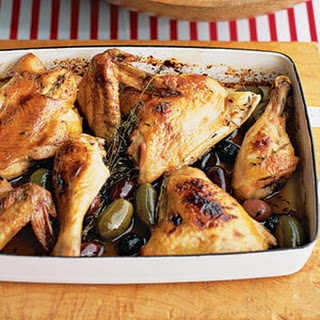 Lemon-Honey Chicken With Olives