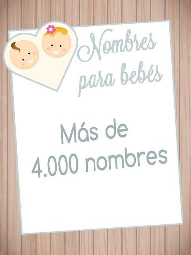 Nombres Bebes y Significado