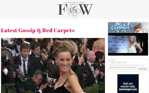 Fashion Gossip Weekly- screenshot thumbnail