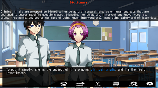ERASER : Visual novel  screenshots EasyGameCheats.pro 4
