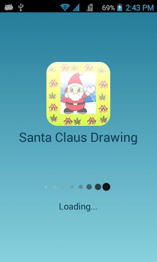 Santa Claus Drawing 2014