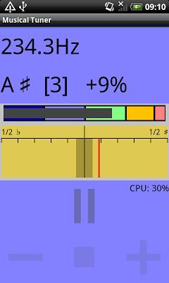 Musical Instrument Tuner - screenshot