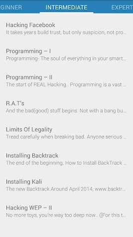 Hacking Tutorials 2.0 Screenshot