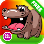 Kids Animals Farm and Zoo Free icon