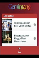 Screenshot of Gemintang - Ramalan Bintang