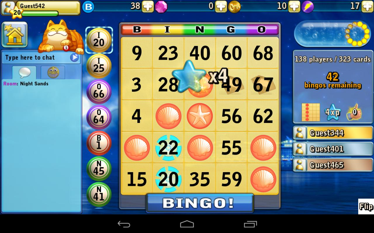 Bingo Beach - screenshot