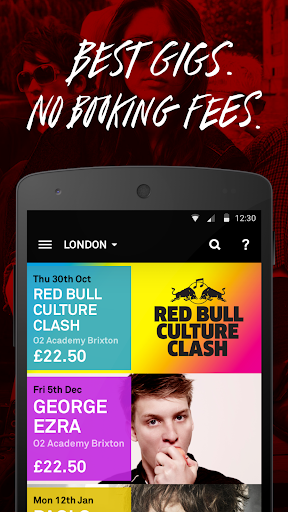 DICE - Best Gigs No Fees