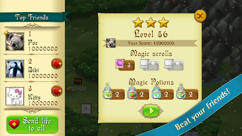 Bubble Witch Saga Screenshot 2