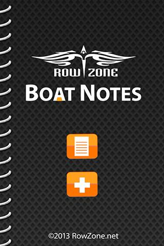 Boat Notes