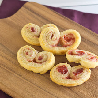 Strawberry Jalapeno Palmiers