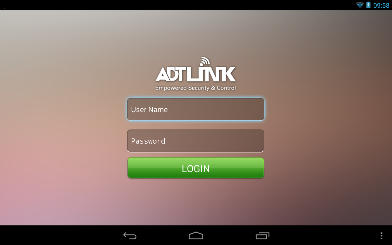 ADT Link Pad - screenshot