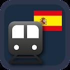 SPAIN METRO - MADRID,BARCELONA icon