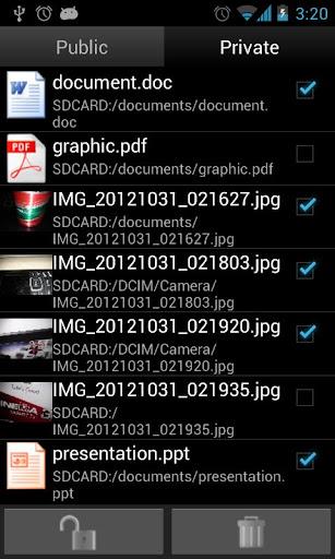 Hide All Files 1.1.0 screenshots 2